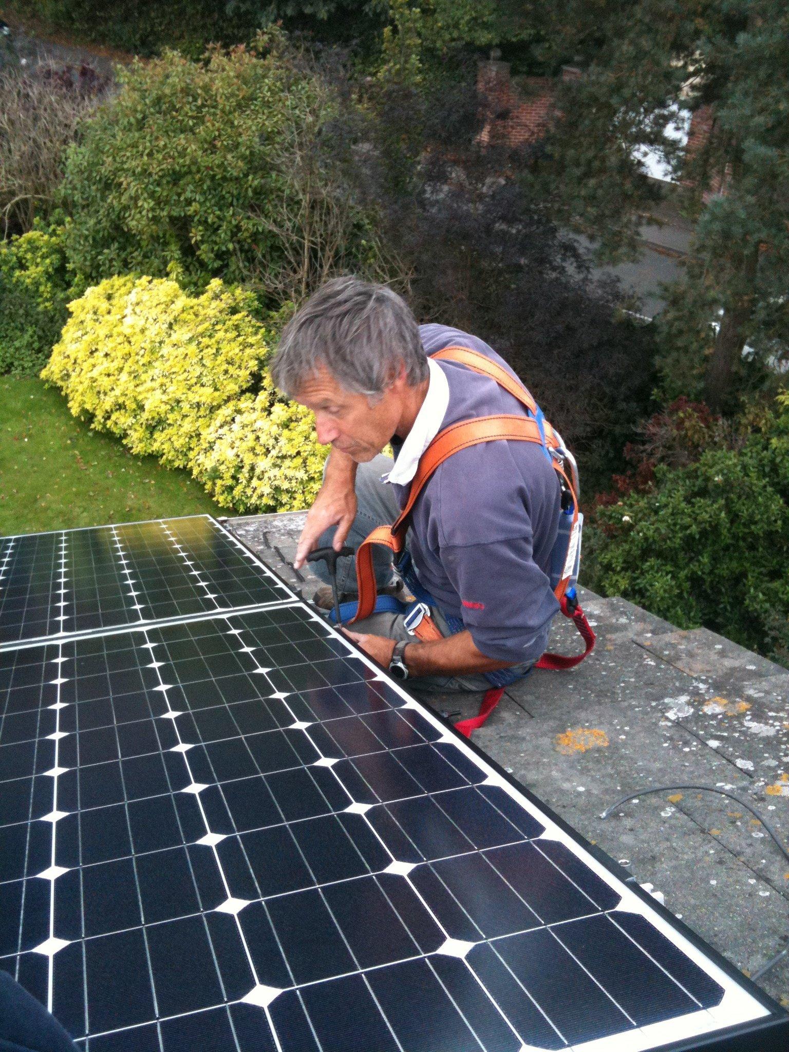 domestic solar installer hampshire