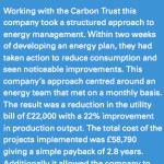Conectionary Company Energy Monitoring