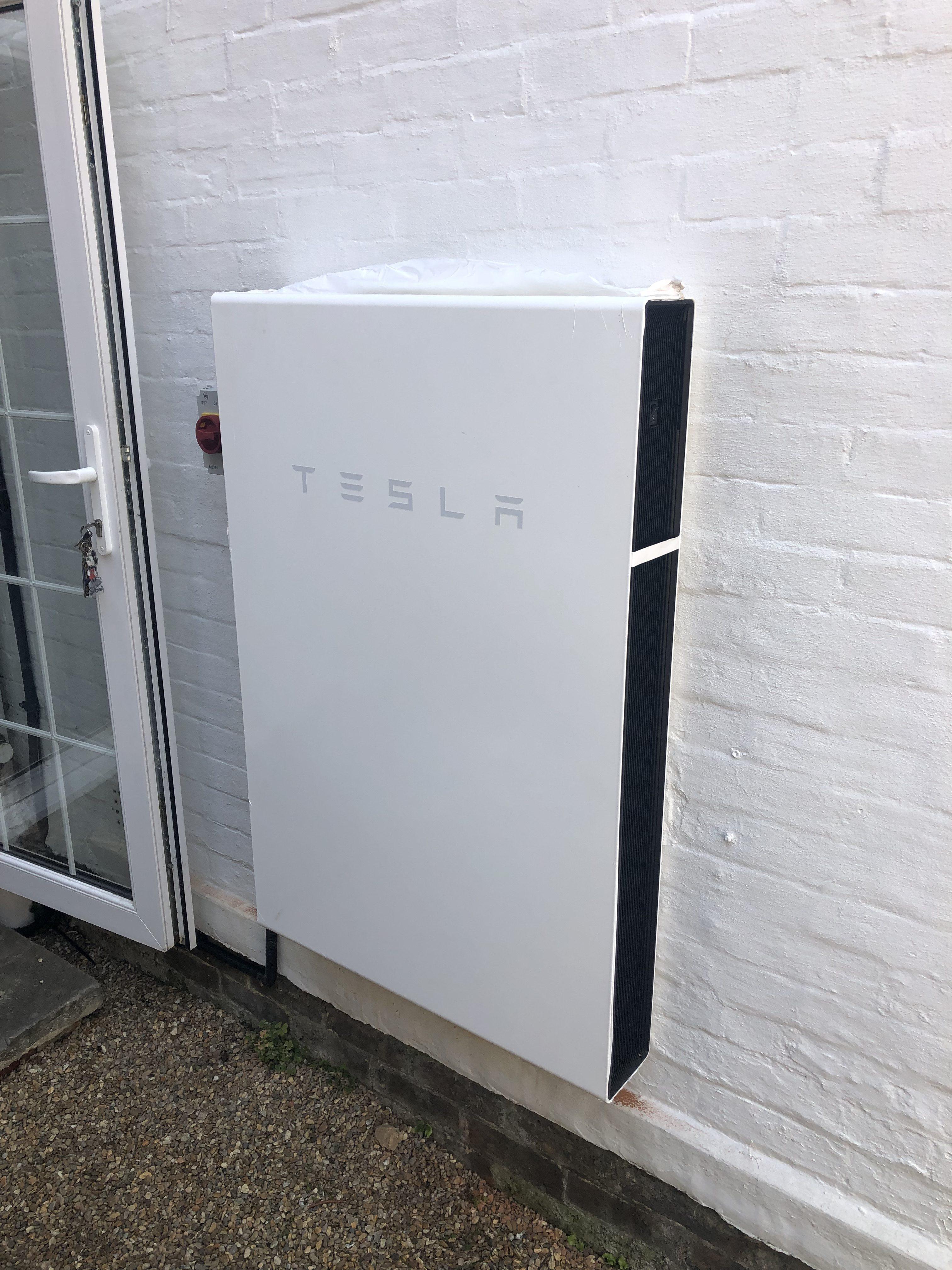 Tesla Powerwall Battery Storage: Installing now from £7800+VAT